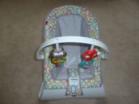 Fisher Price curve bouncer hardly used excellent condition.