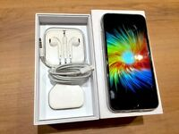 iPhone 6, 16GB, Space Grey (Unlocked) w/ case, box, cable and headphones bundle