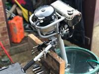 Seagull outboard boat engine with pull start
