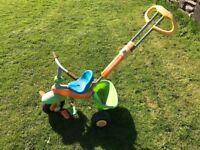 Child's push along trike