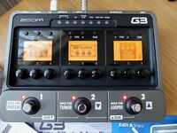 G3 Guitar Effects & Amp` Simulator. Good Condition