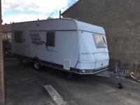 Hymer nova 4 berth caravan with accessories