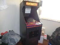 COIN OPERATED GAMES MACHINE VIDIO MASTER SPACE INVADERS