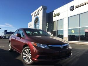 2012 Honda Civic MANUAL SUNROOF ONLY $98* BI-WEEKLY