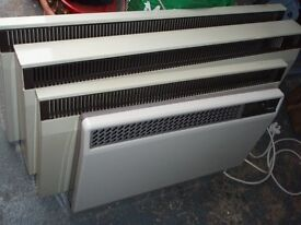 Dimplex Wall Mounted Convector Heaters : 4 off