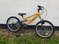 Apollo stomp boys bike 7 to 10 years