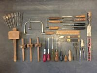 WANTED: Any vintage carpenters tools, saws, planes, chisels, complete tool chests etc