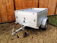 Anssems GT500-151 HT aluminium camping trailer and accessories