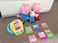Peppa Pig bundle good as new