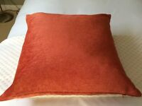Marks & Spencer Terracotta Chenille Cushion Cover and Feather Pad Insert (2 of 2)