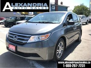 2012 Honda Odyssey EX-L/LEATHER/sunroof/safety included