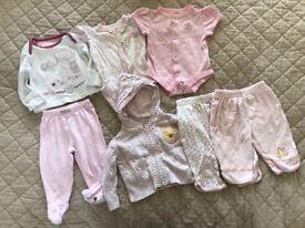 Girl's Clothes Bundle Size 0-3 Months