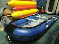 14 ft inflatable boat 1.2mm pvc transport canada approved