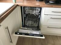 Integrated washer , dryer, dishwasher , microwave and fridge freezer
