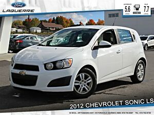 2012 Chevrolet Sonic *LS*5 VITESSES*BLUETOOTH**
