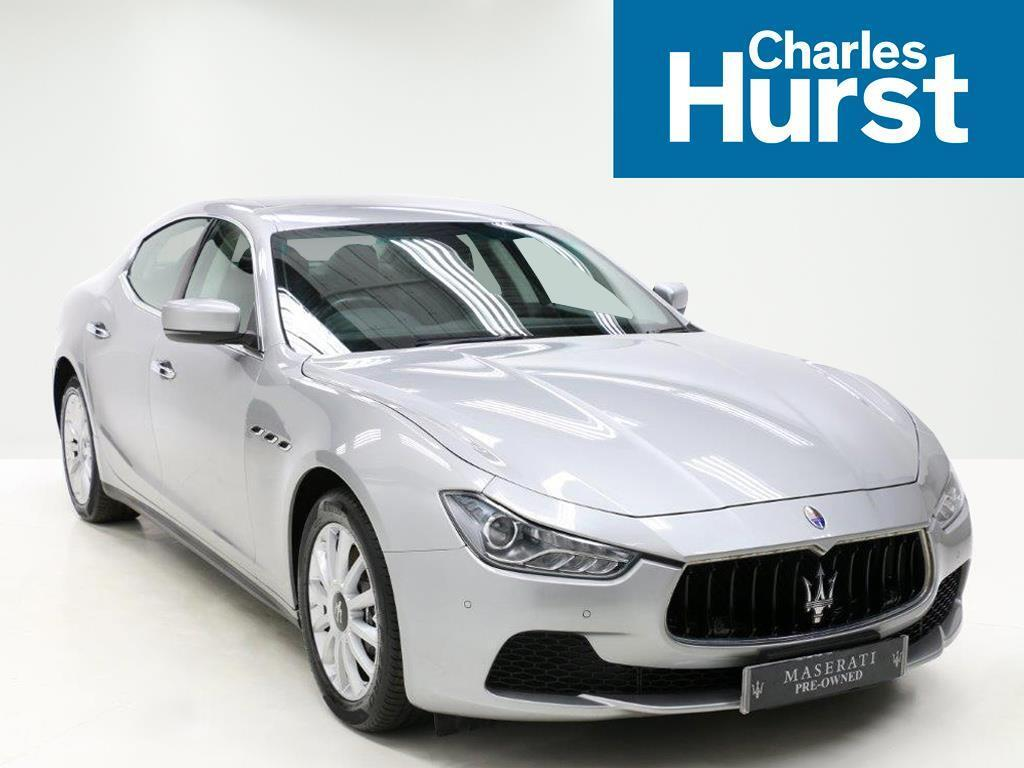 Maserati Ghibli V6 (grey) 2014-07-11