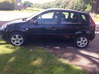 2007 Ford Fiesta 1.6 Tdci Zetec 5 door hatchback black SPARES OR REPAIRS NEEDS ONE INJECTOR