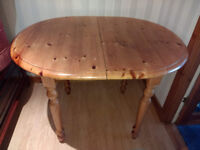 Small PINE Dining Table - Extendable