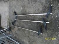 three transit heavy duty roof bars