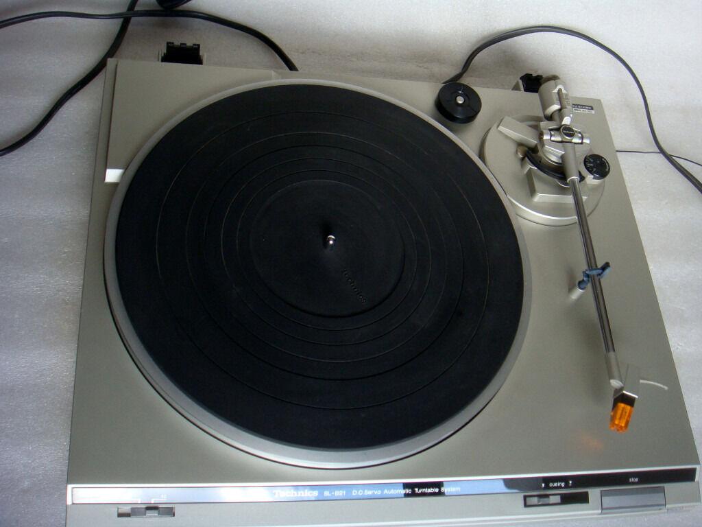 Technics SL-B21 Turntable Record Player & Orig Manual | in