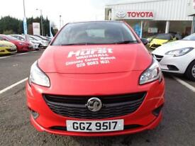 Vauxhall Corsa LIMITED EDITION ECOFLEX (red) 2017-09-29