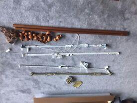 Fre: Curtain rails (Box of 4)