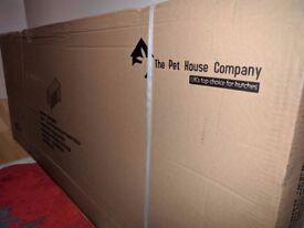 Rabbit / Guinea Pig Hutch Boxed