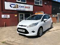 2012 FORD FIESTA S TDCI 1.6 DIESEL 3 DOOR WHITE*LIKE NEW*12 MONTHS AA COVER*NEW MOT*BLUETOOTH*