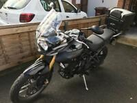 2012 Triumph Tiger 800 only 5000 miles