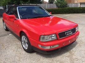 AUDI cabriolet 1.8 20v 1999 51k miles