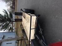 Remorque tendem deux essieux 18pieds