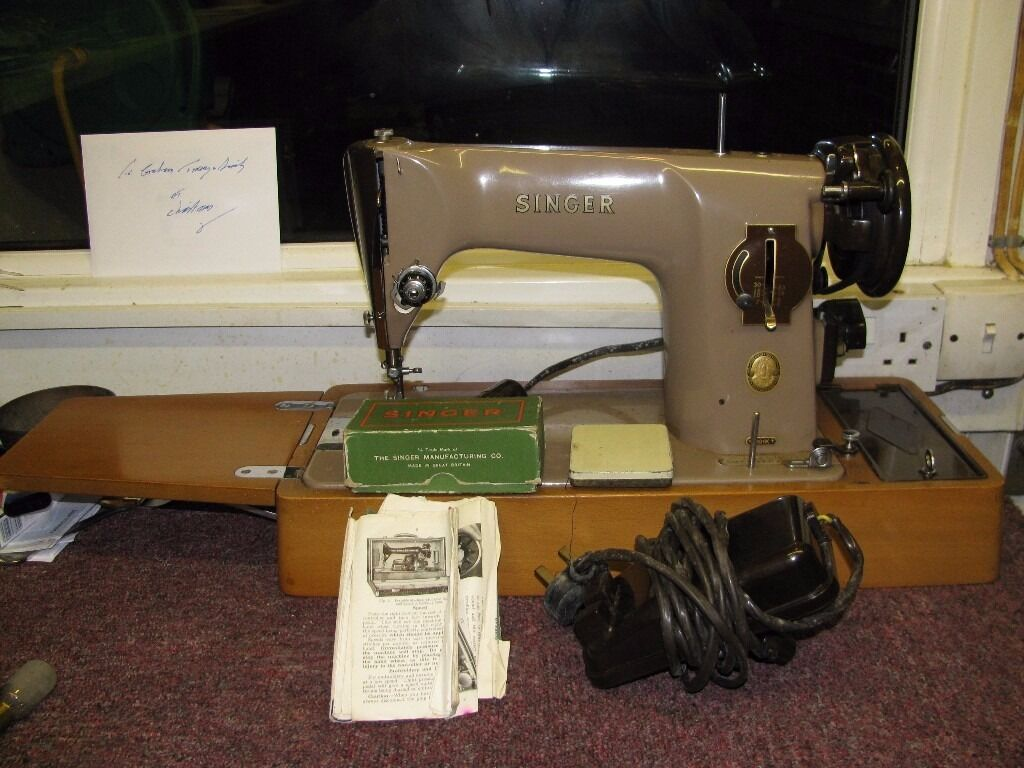 vintage singer sewing machine instructions