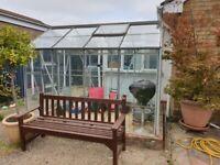 Aluminium 8' X 6' Greenhouse