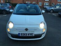 Fiat 500 in immaculate condition with low mileage and full service history