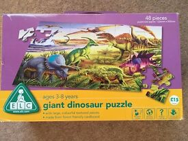 Giant dinosaur floor puzzle from Early Learning Centre