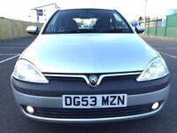 2003 (Sep 53) VAUXHALL CORSA 1.2i 16V SXi - 3 Door Hatch - Petrol - Manual - SILVER *20 Aug 17 MOT*