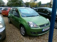 2006 ford fiesta zetec 1200 cc 2 owner 2 door hatch back ideal first car