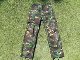 Army camouflage clothing, Size 11/12