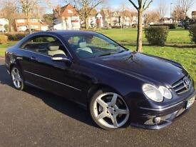 Mercedes CLK220 CDI full mercedes service history up to date