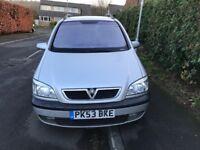 Vauxhall zafira 2ltr dti diesel