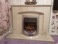ELECTRIC AND FIRE SURROUND