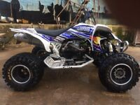 Yamaha yfz 450r Quad bike 2008 p-ex welcome great looker and rider!!