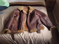 Vintage WW2 Leather Flying Jacket