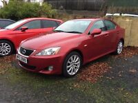Mint 2006 Lexus IS 220D SE 4dr manual ,trade in considered at trade prices , credit cards accepted.