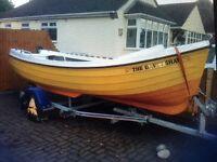 Orkney Longliner 16ft Fishing boat