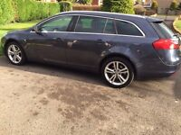 VAUXHALL INSIGNIA CDTI SRI TOURER IN BLUE. **SELLING FOR SPARES OR REPAIR**.PLEASE SEE ADVERT.