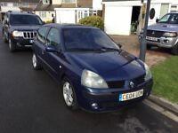 Renault Clio 1.5 dci diesel dynamiqe 2004 facelift model 3 door hatch mot march 27 full history