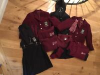 School uniform including PE kit - Girls - George Watsons P4-5 - most items excellent condition