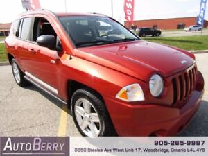 2010 Jeep Compass Sport 4WD ***CERTIFIED ACCIDENT FREE*** $6,999