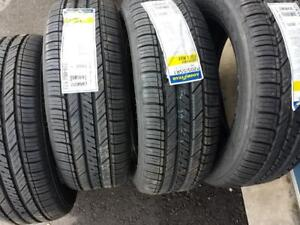 BRAND NEW WITH LABELS GOODYEAR HIGH PERFORMANCE ' H ' RATED 205 / 55 / 16 TIRE SET OF FOUR.